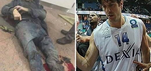 DRAMATIČNA FOTOGRAFIJA: Iz kluba prepoznali svog ranjenog košarkaša