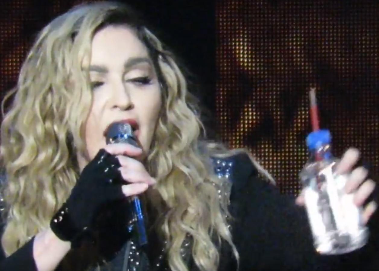 VIDEO: INCIDENT ZVIJEZDE - Neka me netko poje**, tko će se pobrinuti? - vikala je Madonna