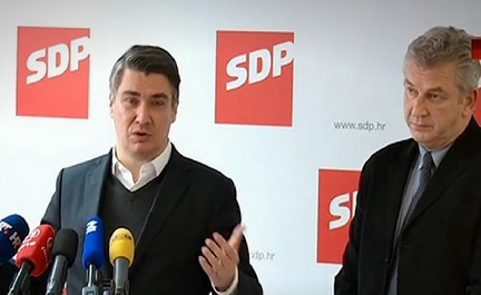 KRITIKA SA PRESSICE: Petrov i Karamarko su tu da dijele plijen - kaže Milanović