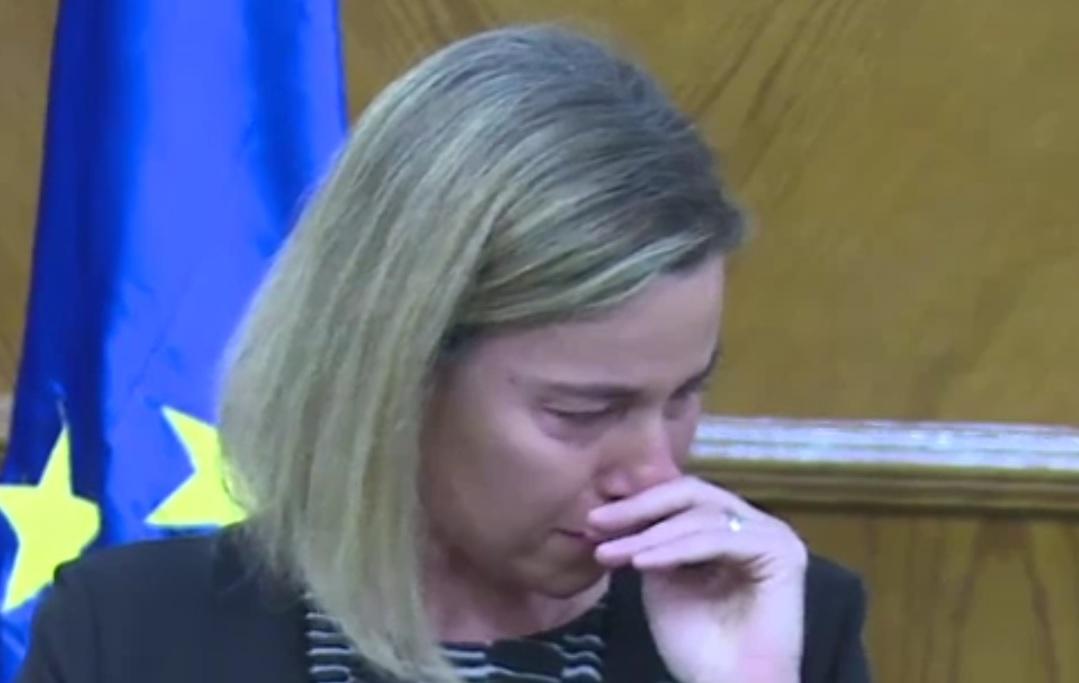 O SMRTI U BRUXELLESU: Ovo je vrlo tužan dan za Europu - rekla je Mogherini i zaplakala