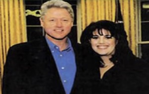 monica lowinsky, bill clinton