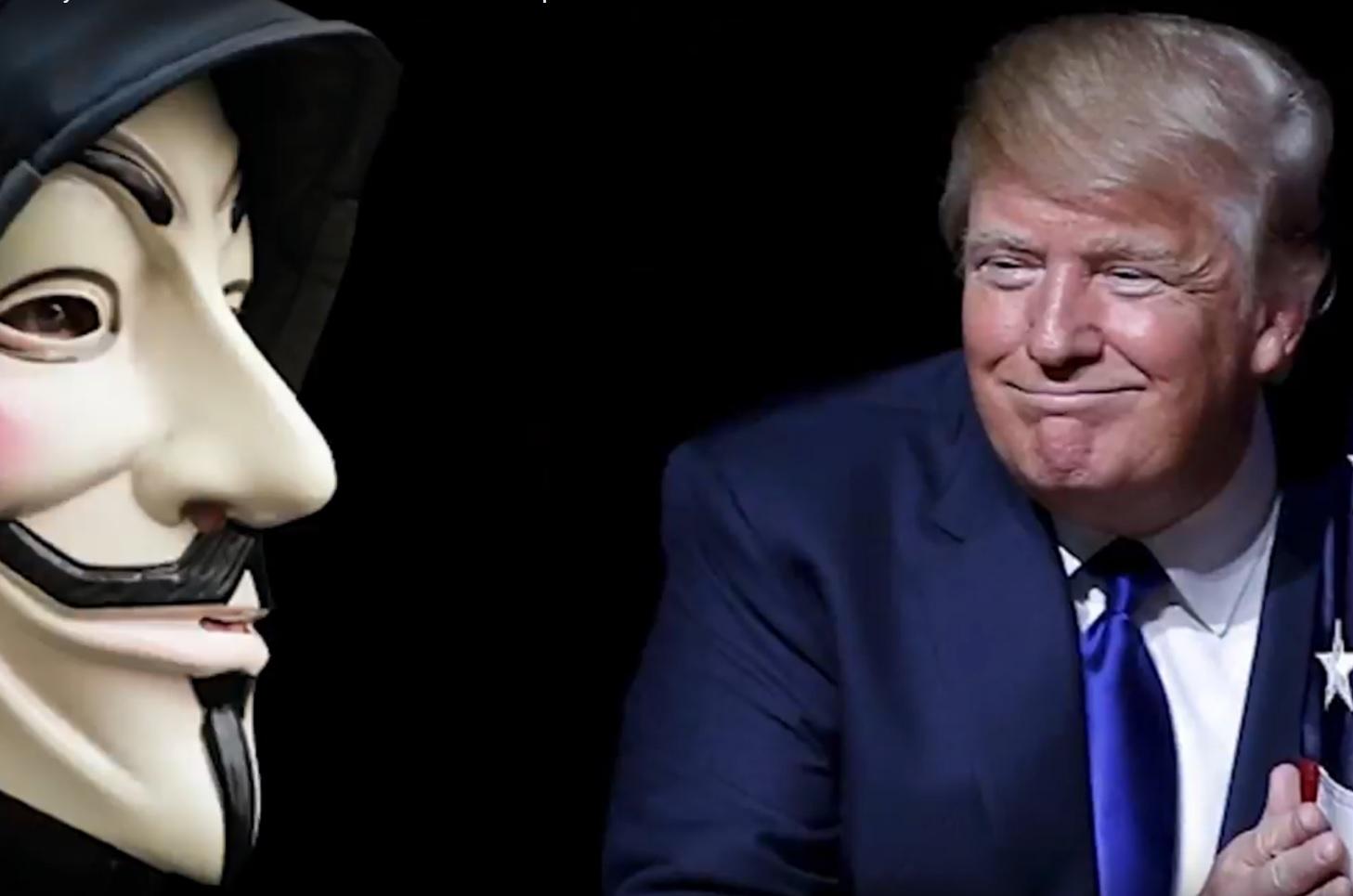 VIDEO: NAJAVILI RAT - Kako Anonymousi misle cyber napadima srušiti Donalda Trumpa