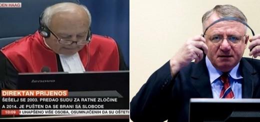 ŠOKANTNO: Vojislav Šešelj oslobođen po svim točkama optužbe!