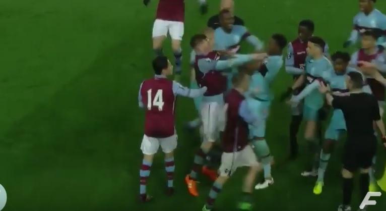 VIDEO: RUŽNE SCENE - Pogledajte tučnjavu nogometaša u Engleskoj