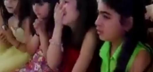 VIDEO: TO SU VJERNICI - Djeca plaču, a potom pjevaju u raketiranoj crkvi u Damasku