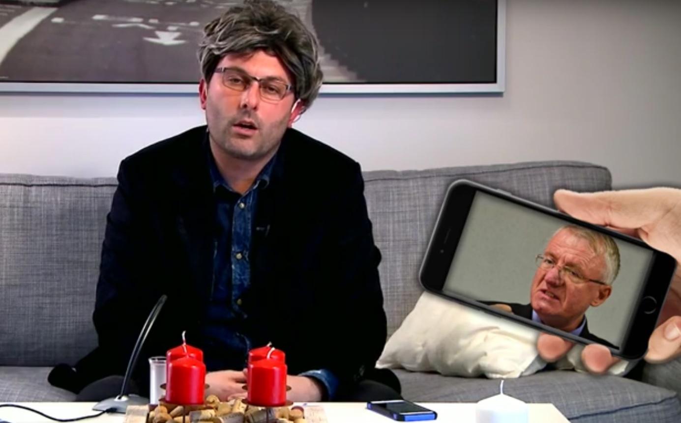 VIDEO LUDILO: POZIV NA MARS - Kako to izgleda kada Orešković zove Šešelja?!