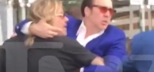 """VIDEO: MAKLJAŽA POZNATIH - Prijatelji Nicolas Cage i Vince Neil u """"klinču"""" - zašto?"""