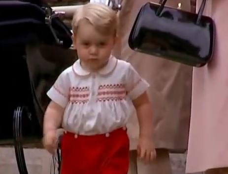 """VIDEO: PRINC GEORGE - Jedino on ne oslovljava kraljicu s """"Njezino visočanstvo"""" - ima za nju svoje ime"""