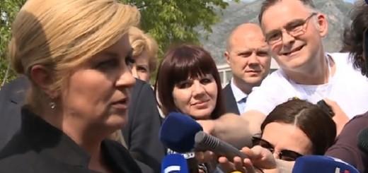 PREDSJEDNICA: Odnosi Srbije i Hrvatske nisu napeti - postoji retoričko sučeljavanje