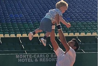 VIDEO: NAJSLAĐI TRENING - Pogledajte kako Đoković trenira sa svojim sinom