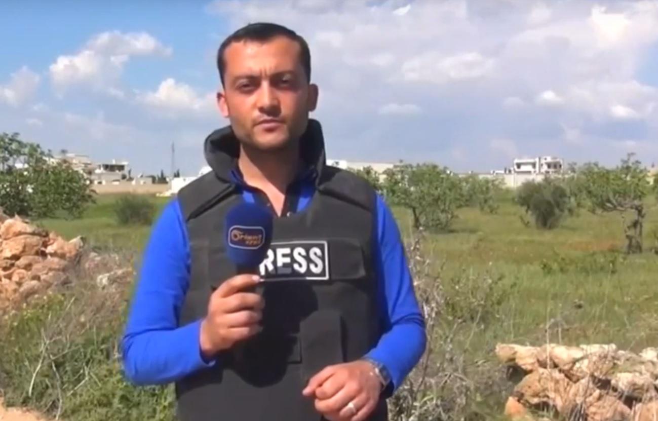 VIDEO: UZNEMIRUJUĆE - Pogledajte kako je novinar pogođen u ratnoj zoni 1
