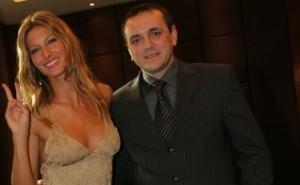 Miroslav Stanojević u društvu poznate Giselle Bundchen