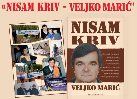 BRANITELJ NA SLOBODI: Veljko Marić pušten iz zatvora u Glini na tri mjeseca 1