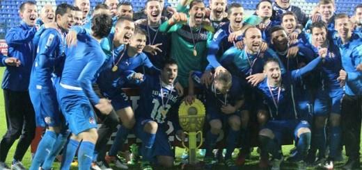 DINAMU RABUZINOVO SUNCE: Nadigrali su Slaven Belupo i po 14. puta osvojili Kup
