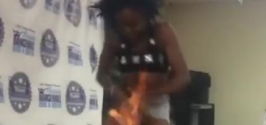 VIDEO: OSVAJALA ŽIRI - Nepažnjom, za vrijeme plesa, zapalila svoje međunožje