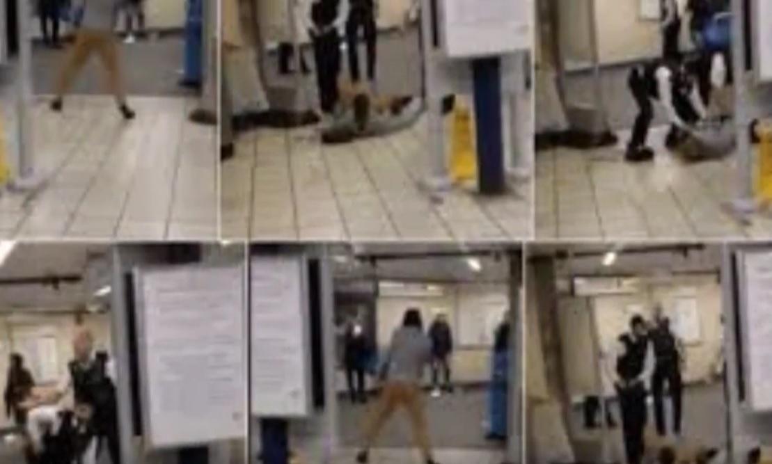 """VIDEO: DRAMA NA POSTAJI - Manijak vikao """"Allahu Akbar"""" i nožem ubio jednu a ozlijedio tri osobe"""