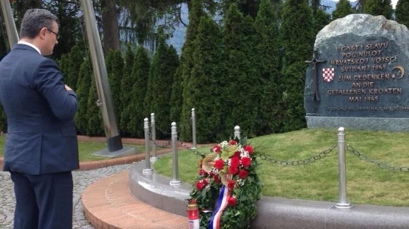 DRŽAVNI VRH U BLEIBURGU: komunistički režim počinio je masovna djela nasilja - rekao je Orešković