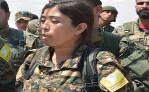 rojda felat, komandantica, sirija