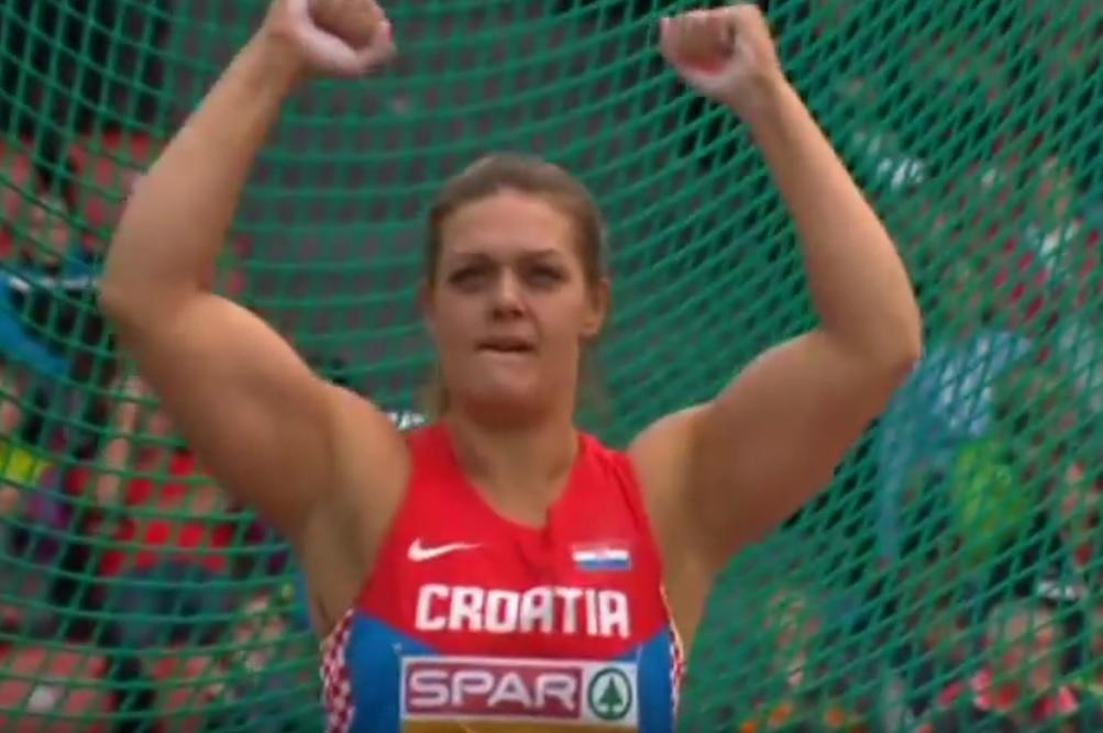 DIJAMANTNA LIGA: Novi rekord Sandre Perković, odlična i Ana Šimić