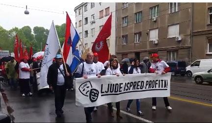 SINDIKATI U AKCIJI: Vladine reforme će se lomiti na plećima građana - kaže Sever