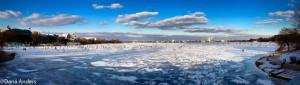 hamburg, jezero Aussenalster