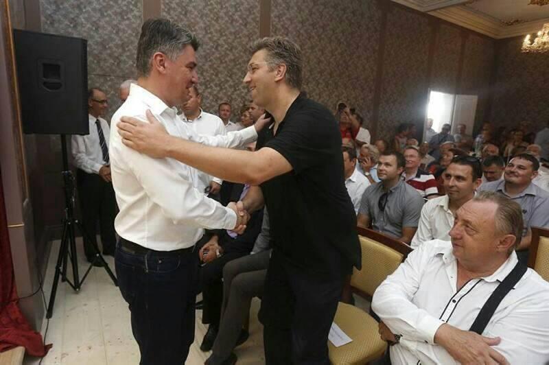 BURA OKO FOTKE: Račan objavio Plenkovića i Milanovića - što je bilo dalje? 2