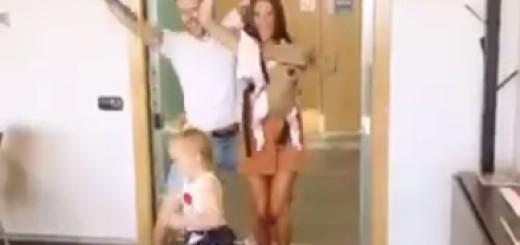 VIDEO: PLES SREĆE - Pogledajte Ivana Rakitića u radosti s obitelji