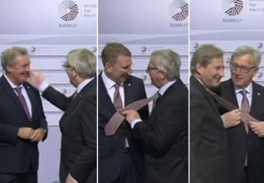 VIDEO: RASPOLOŽENI PREDSJEDNIK - Jean Claude Juncker