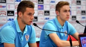 Marko Rog i Marko Pjaca (Foto: HNS)