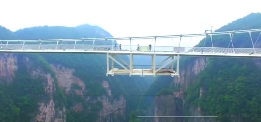 VIDEO: FANTAZIJA - Pogledajte najveći stakleni most na svijetu na kojem zastaje dah