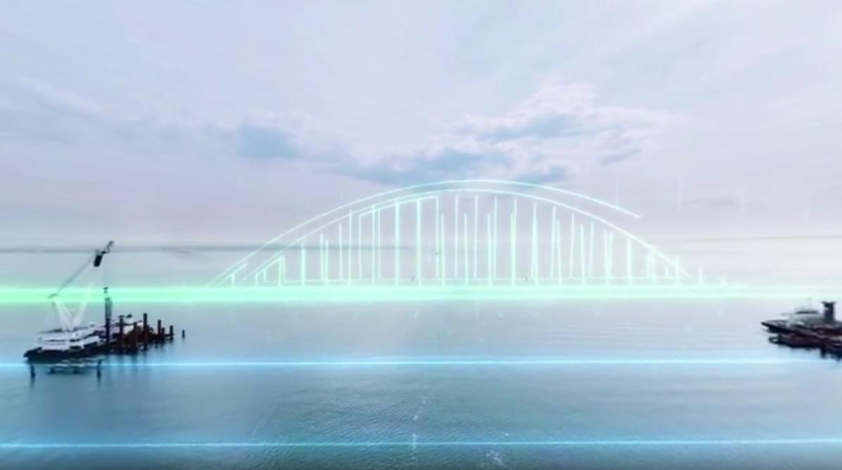 VIDEO: POVEZNICA KRIMA I RUSIJE - Spektakularan most dug 19 kilometara bit će gotov do 2018.