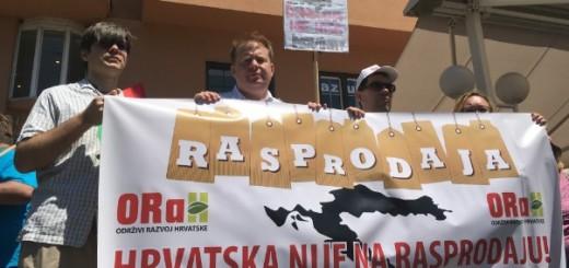 IZ STRANKE ORAH PORUKA: Hrvatska nije na rasprodaju - raspišite hitno nove izbore