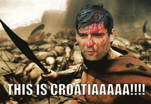 NOGOMETNI SVIJET SE DIVI: Vedran Ćorluka osvanuo kao ratnik na društvenim mrežama 1