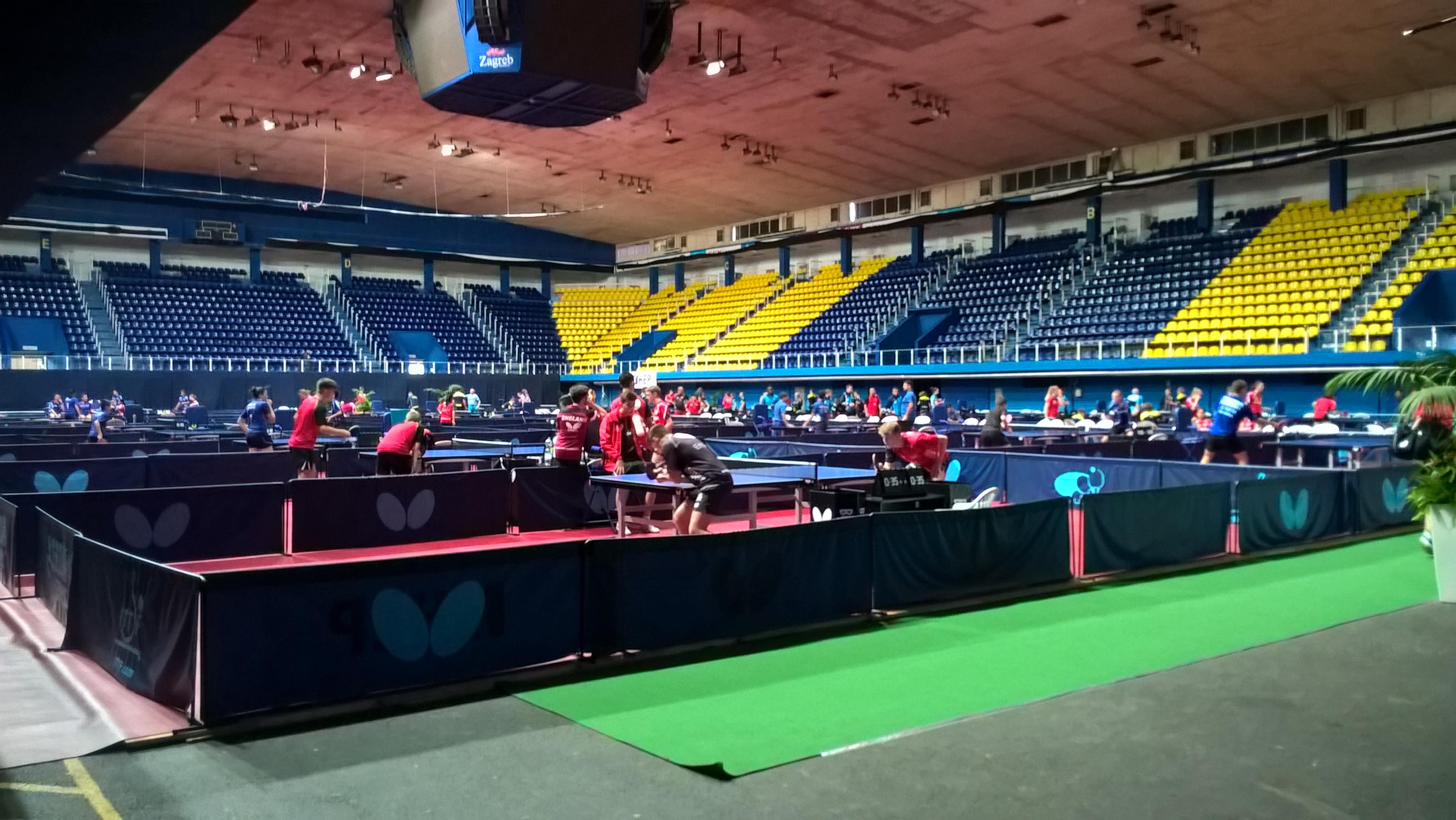POČINJE SPEKTAKL U 'PINGAČU': Sve je spremno za Europsko omladinsko prvenstvo
