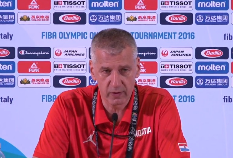 NAKON DRAME U TORINU: Petrović odveo hrvatske košarkaše na Olimpijske igre