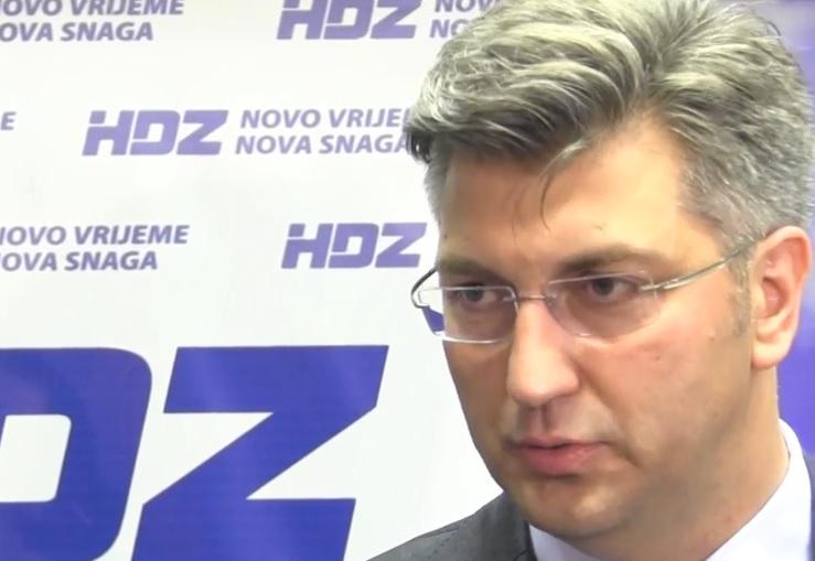 ANDREJ PLENKOVIĆ: Ja sam već jučer jasno osudio sve provokacije u Kninu