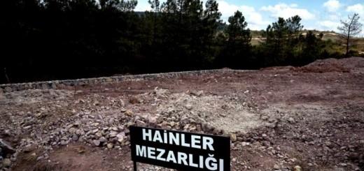 groblje za izdajnike, Turska