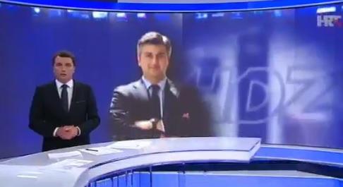 VIDEO: HRT GURA HDZ - Snimka pokazuje kako nekoliko dana počinje Dnevnik