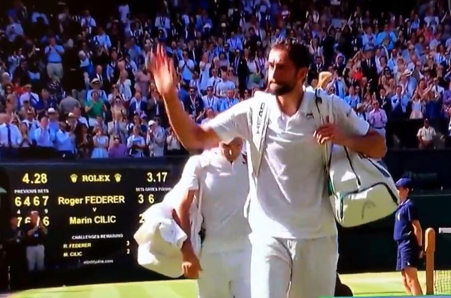 VIDEO: PORAZ U ČETVRTFINALU - Čilić izgubio od Federera u dramatičnom meču koji je mogao dobiti