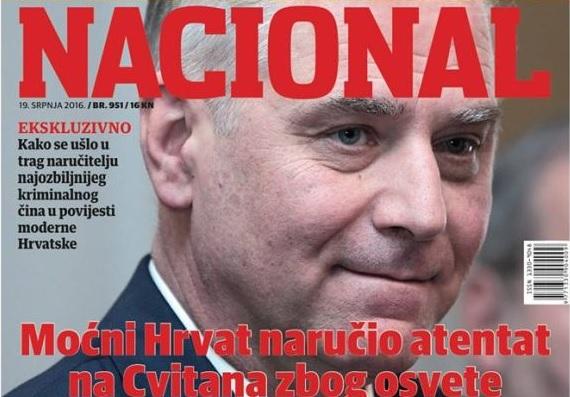 NACIONAL: Moćni Hrvat naručio atentat na Cvitana zbog osvete 1