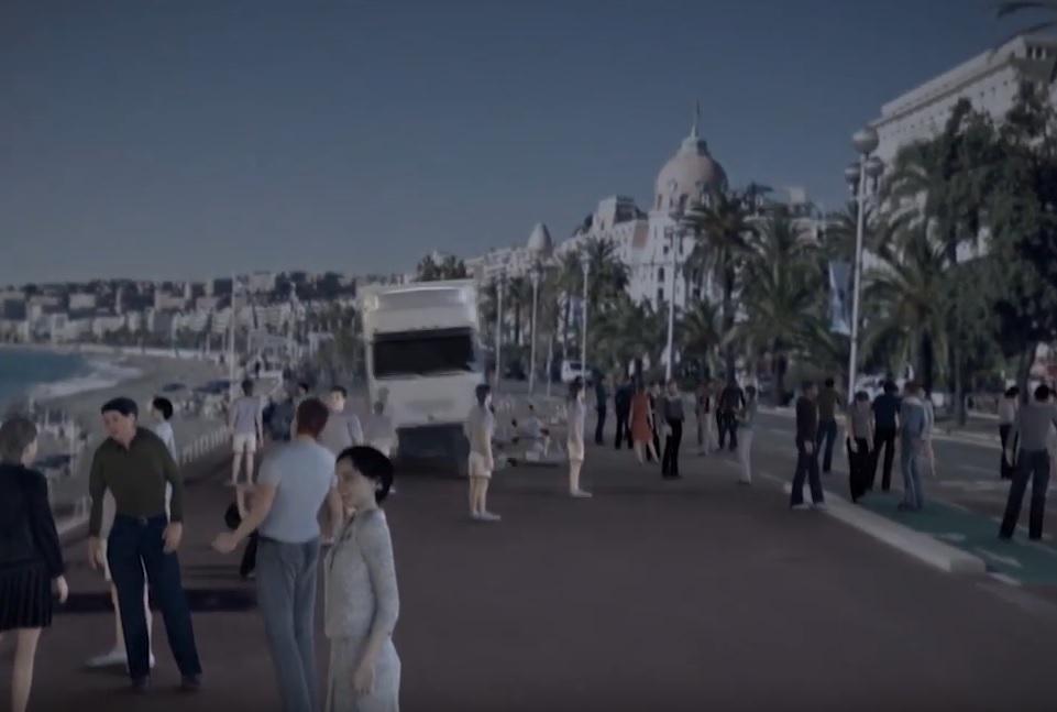 VIDEO: HOROR U 30 SEKUNDI - Ovo je rekonstrukcija masovnog ubojstva u Nici