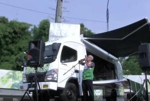 pokretna džamija, jakarta, indonezija
