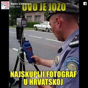 policajac, fotograf