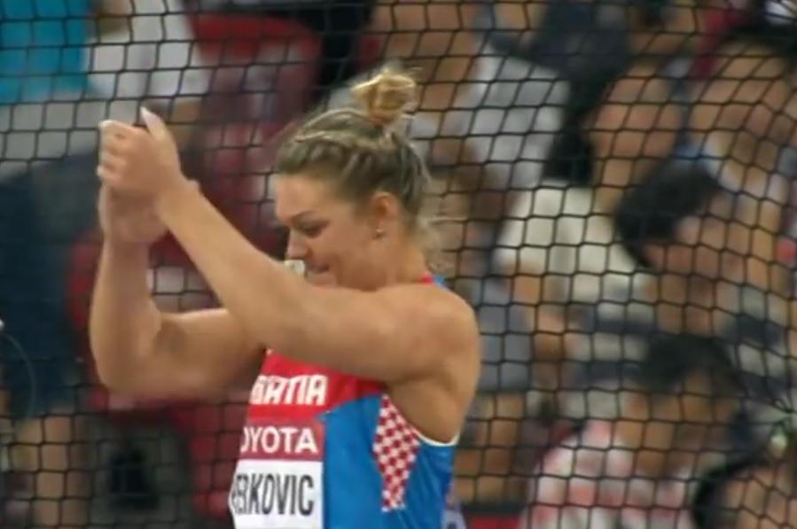 ATLETSKA ZVIJEZDA: Sandra Perković po četvrti puta osvojila europsko zlato! 2