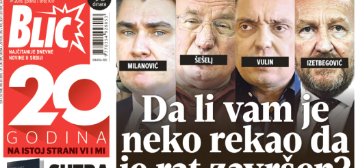 """BURNO NA MILANOVIĆA: Od """"sram te bilo"""" do """"ustaška budala koja mrzi sve srpsko"""" 1"""