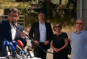 Željko Jovanović, Zoran Milanović, Vesna Pusić i Neven Budak