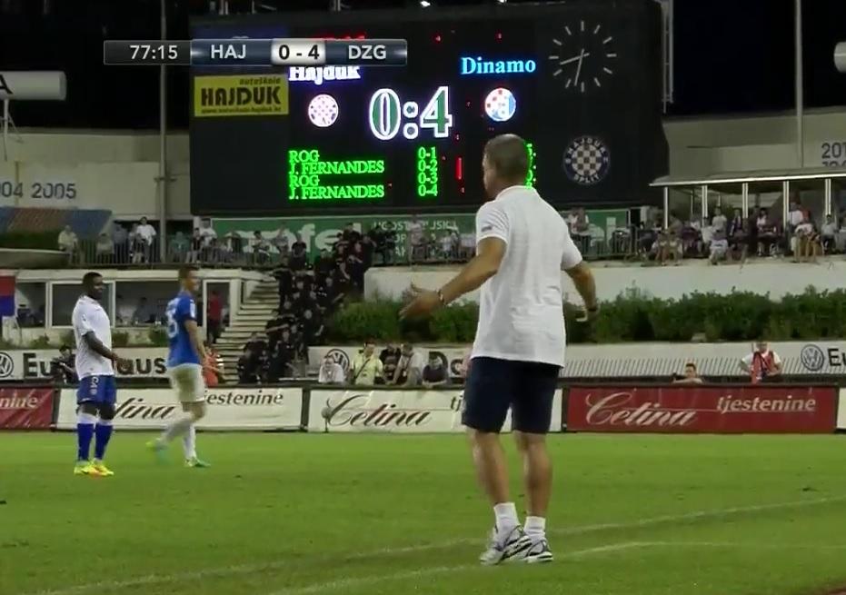 KATASTROFA HAJDUKA: Dinamo nadigrao splitske bijele u svim elementima nogometa