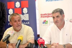 Ivo Baldasar, Milan Bandić