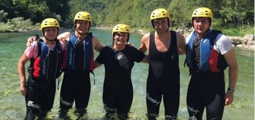 ADRENALIN NA RAFTINGU: Predsjednica se s prijateljima spustila kanjonom Neretve 1