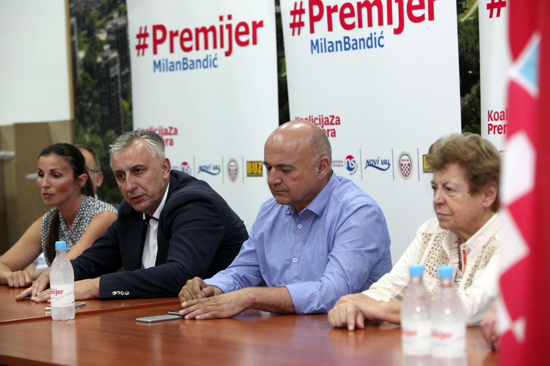 LJUBO JURČIĆ: Zašto sam u Koaliciji za premijera - razlog je vrlo jednostavan, Milan je dobar čovjek 1